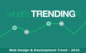 Web Design Development Trends 2016
